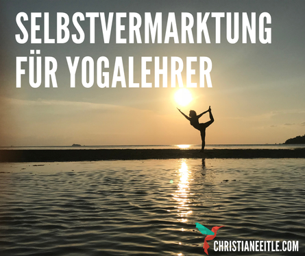 Marketing, Website, Social Media Yogalehrer und Yogastudio - Christiane Eitle