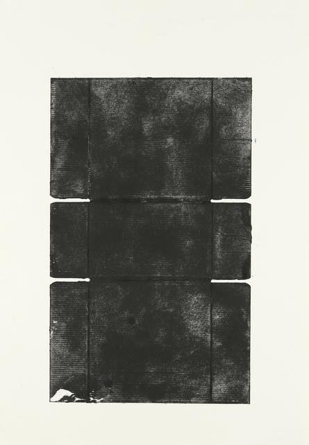 Monument III, 2018, 75 x 53,5 cm, Tiefdruck auf Bütten