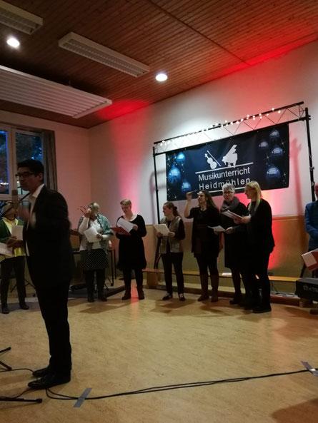 Weihnachtskonzert 2018 Musikschule Heidmühlen