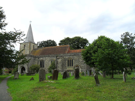 St. Nicolas Church, Pluckley