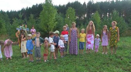 斯拉夫諾耶裡有很多的小孩子