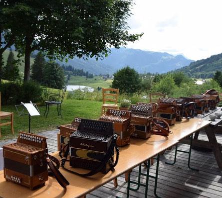 stage accordéon diatonique, jean-marc rohart, clavier, pédagogie, la clusaz
