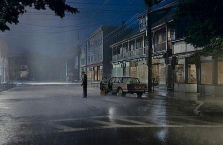 photographe Gregory Crewdson sous la pluie