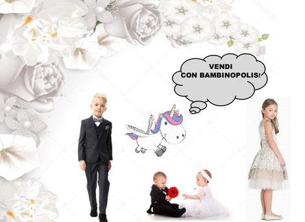 a9ae50448351 Da marzo Bambinopolis inizia il ritiro di abiti da cerimonia per bambini da  0 a 12 anni!