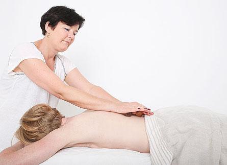 Irma Egloff, Edelstein Balance Massage, Praxis Innerflow in Zeihen, Fricktal