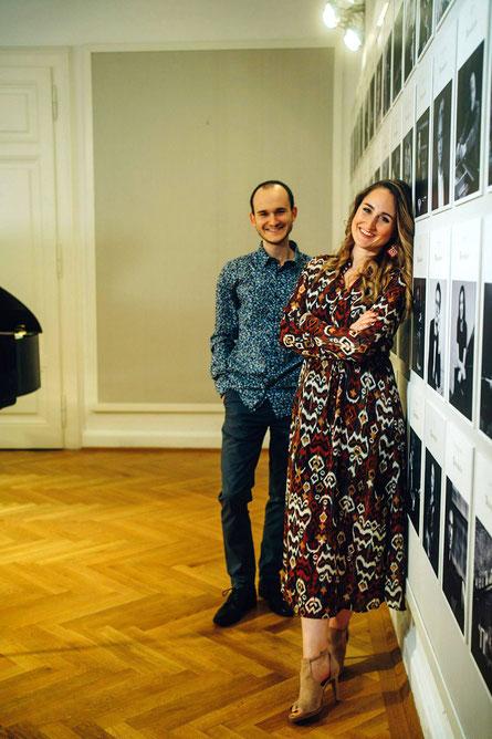 Florian Reider und Stefanie Egger. (c) WAVELLITE