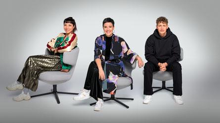 Fiva, Ina Regen, Tim Bendzko. (c) ORF / Thomas Ramstorfer