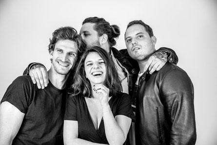 Christins Band. (c) Eva Aksan