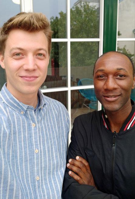 Daniel Poschinger und Aloe Blacc trafen sich in Wien. Ein Star ohne Allüren. (c) Daniel Poschinger