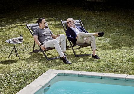 Auch bei der stressigen Albumaufnahme kann man sich eine Pause gönnen. (c) Sony Entertainment / Gregor Hohenberg