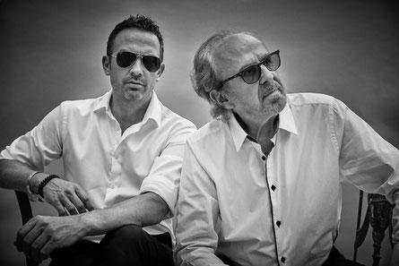Till Brönner und Bob James. (c) Sony Entertainment / Gregor Hohenberg