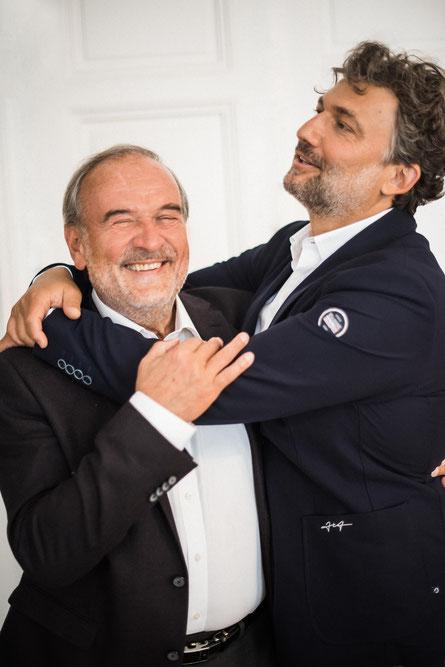 Helmut Deutsch und Jonas Kaufmann. (c) Sony Music / Lena Wunderlich