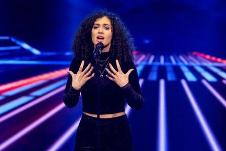 "Julia Novohradsky wird ""I Kissed A Girl"" (Katie Perry) im Semifinale singen. (c) ORF / Hans Leitner"