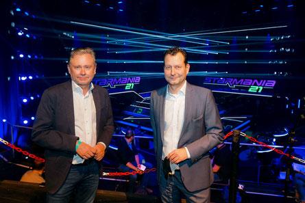 ORF-Generaldirektor Dr. Alexander Wrabetz und ORF-TV-Unterhaltungschef Alexander Hofer. (c) ORF / Zach-Kiesling