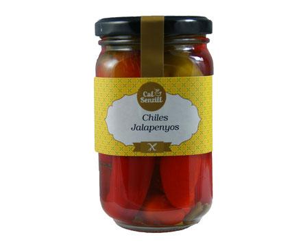 Chiles jalapenyos  PE 265 grm
