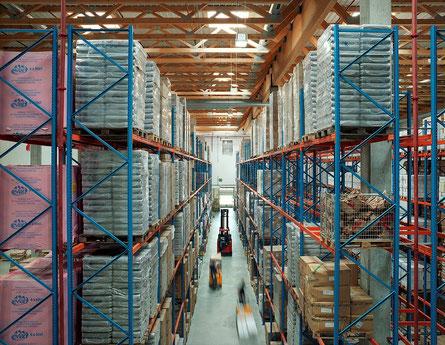 HAVI Drylager. Foto Copyrights HAVI Logistics
