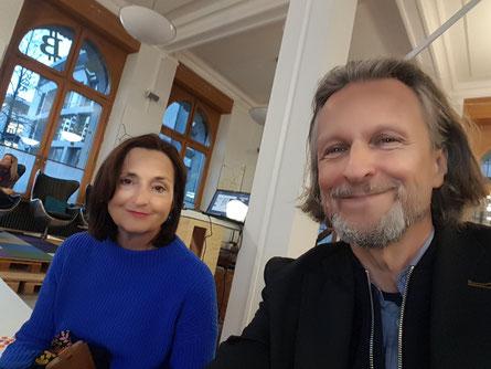 Prof.Veronika Bellone & Thomas Matla © Bellone Franchise Consulting GmbH