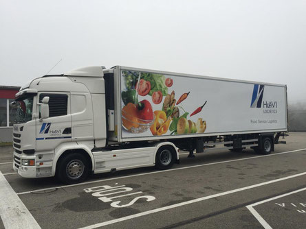 HAVI LKW. Foto-Copyrights by HAVI  Logistics