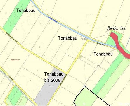 Karte: geoweb LK 'Diepholz / mit eigenen Eintragungen