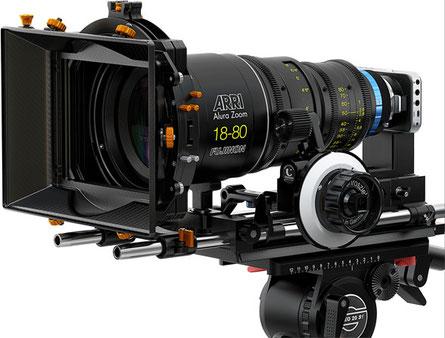 Objectif 16mm Fujinon en monture PL sur BMPCC