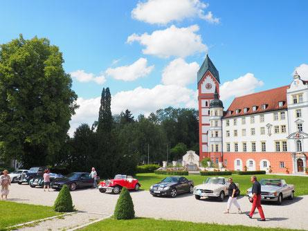 Innenhof vom Kloster Scheyern