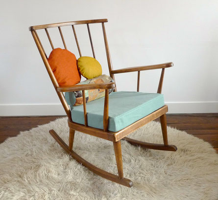 Si ges meubles et d coration vintage - Rocking chair confortable ...
