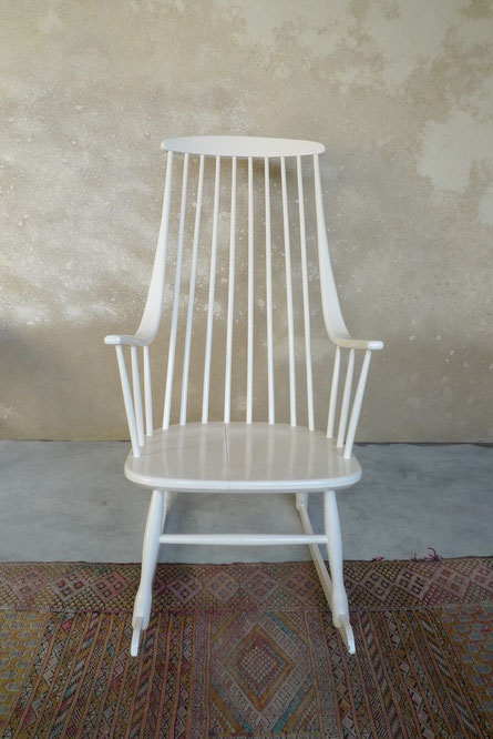 Si ges meubles et d coration vintage for Rocking chair blanc chambre bebe