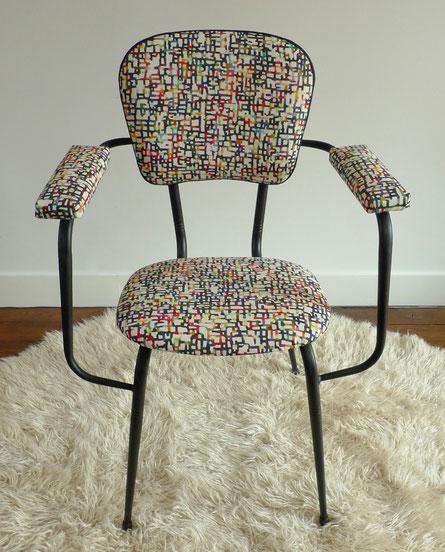 JOLI, fauteuil confort-lux, fauteuil vintage, fauteuil 60's