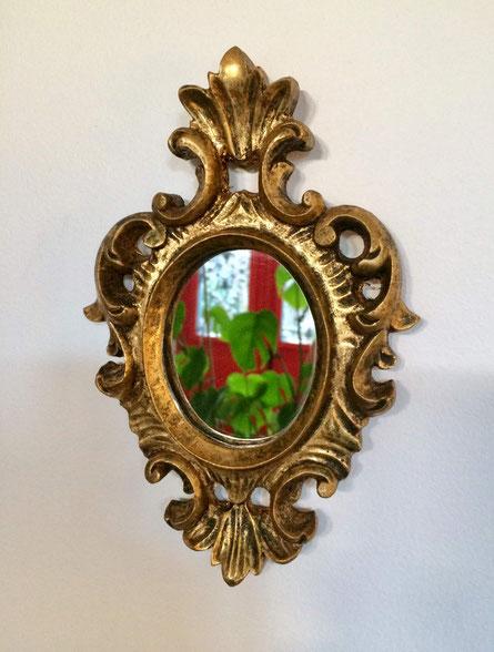 miroir rococo, miroir baroque, miroir LouisXV