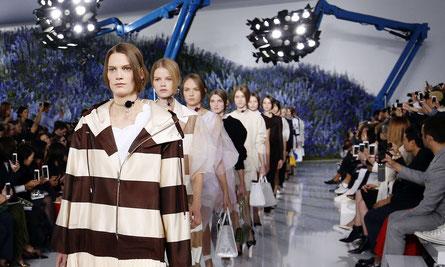 Pureté et transparence chez Dior