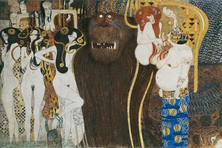 La frise Beethoven - Gustave Klimt (copie-1984)