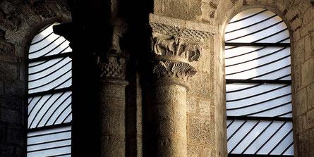 Soulages - Représentation symbolique de l'Eucharistie - Abbatiale Sainte-Foy de Conques (Aveyron)