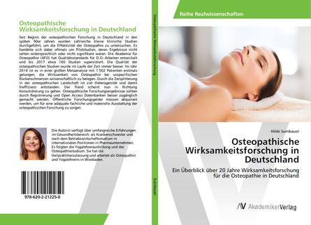 Publikation von Hilde Sumbauer: Osteopathische Wirksamkeitsforschung in Deutschland