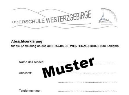 Absichtserklärung - bze-schules Webseite!