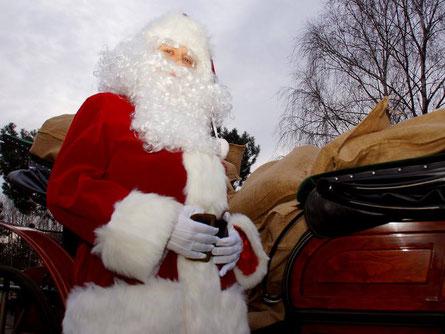 Der Weihnachtsmann kommt nach Beelitz. Foto: Gérard Lorenz