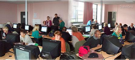Salle informatique Lycée Palissy Saintes