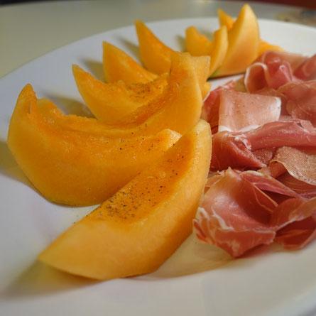 Melone mit rohschinken rezepte rund ums kochen im alltag for Melone charentais