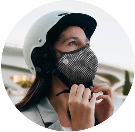 Masque pour faire du vélo