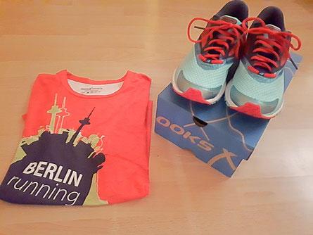 Neues Schuhwerk von Brooks und Laufhirt von Peppex Sports.