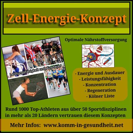 Sportverbände und Spitzensportler vertrauen dem Zell-Energie-Konzept
