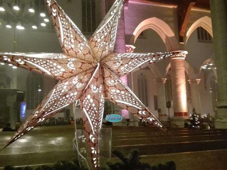'Kerstster Oude Kerk' Delft December 2016