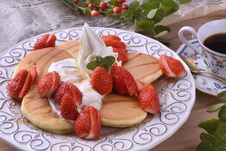 減農薬栽培やよいひめのパンケーキ