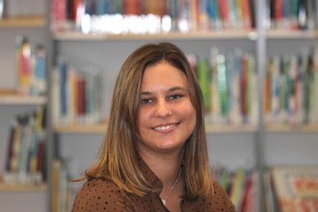 Melissa Reiss unterrichtet zukünftig an der Goldbachschule.