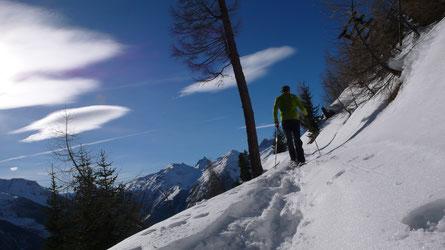 Schneeschuhtouren im Lötschental
