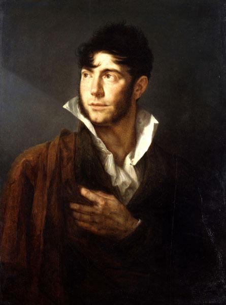 Philippe-Auguste Hennequin (1812). Zelfportret. Publiek domein via Wikimedia Commons