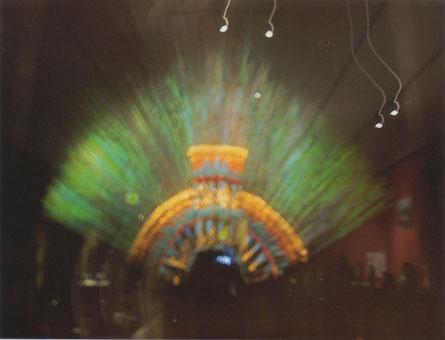 Wenen - Volkenkundig Museum - Quetzaltooi van Montezuma II.