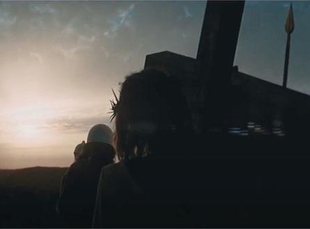 Jezus in de film 'Jezus Christ Superstar' - printscreen 15 jan. 2021