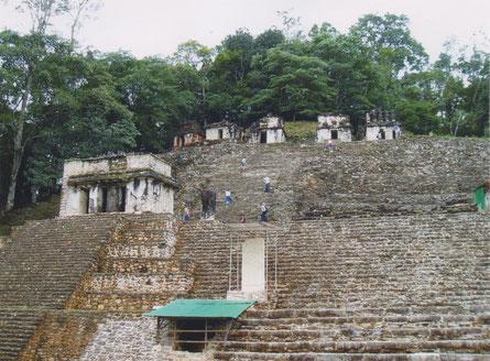 Bonampak - Maya-tempels