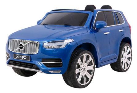 Volvo/XC90/2-Sitzer/Kinderauto/Kinder Elektroauto/Kinder Auto/lizensiert/blau lackiert/