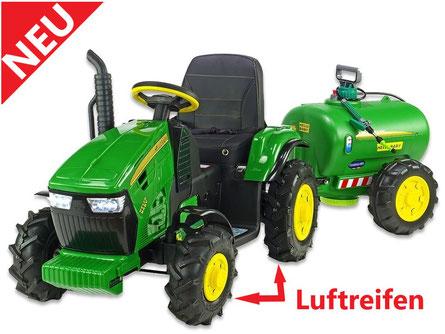 Traktor mit Luftreifen kaufen/Kinderauto/Kinder Elektroauto/Kinder Traktor/Anhänger/